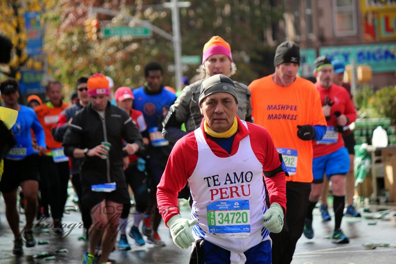 Peru en el  Maratón de la Ciudad de Nueva York 2014