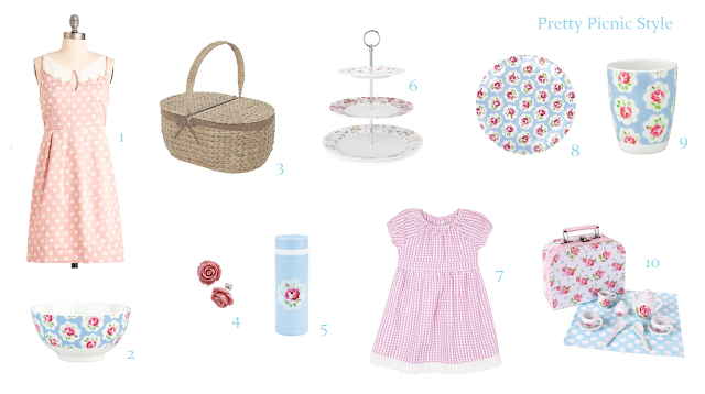 How to make pretty picnics