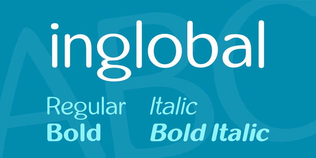 inglobal Font