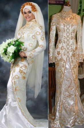Moslem Fashions: Kebaya and Muslim Wedding Gown
