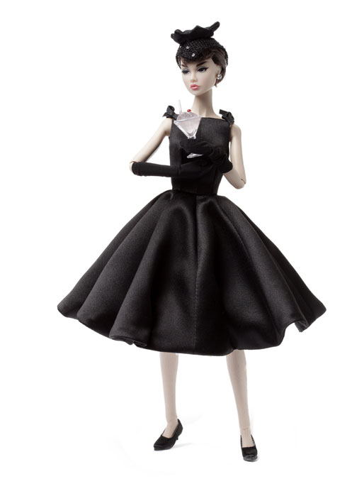 Audrey hepburn black white dress sabrina
