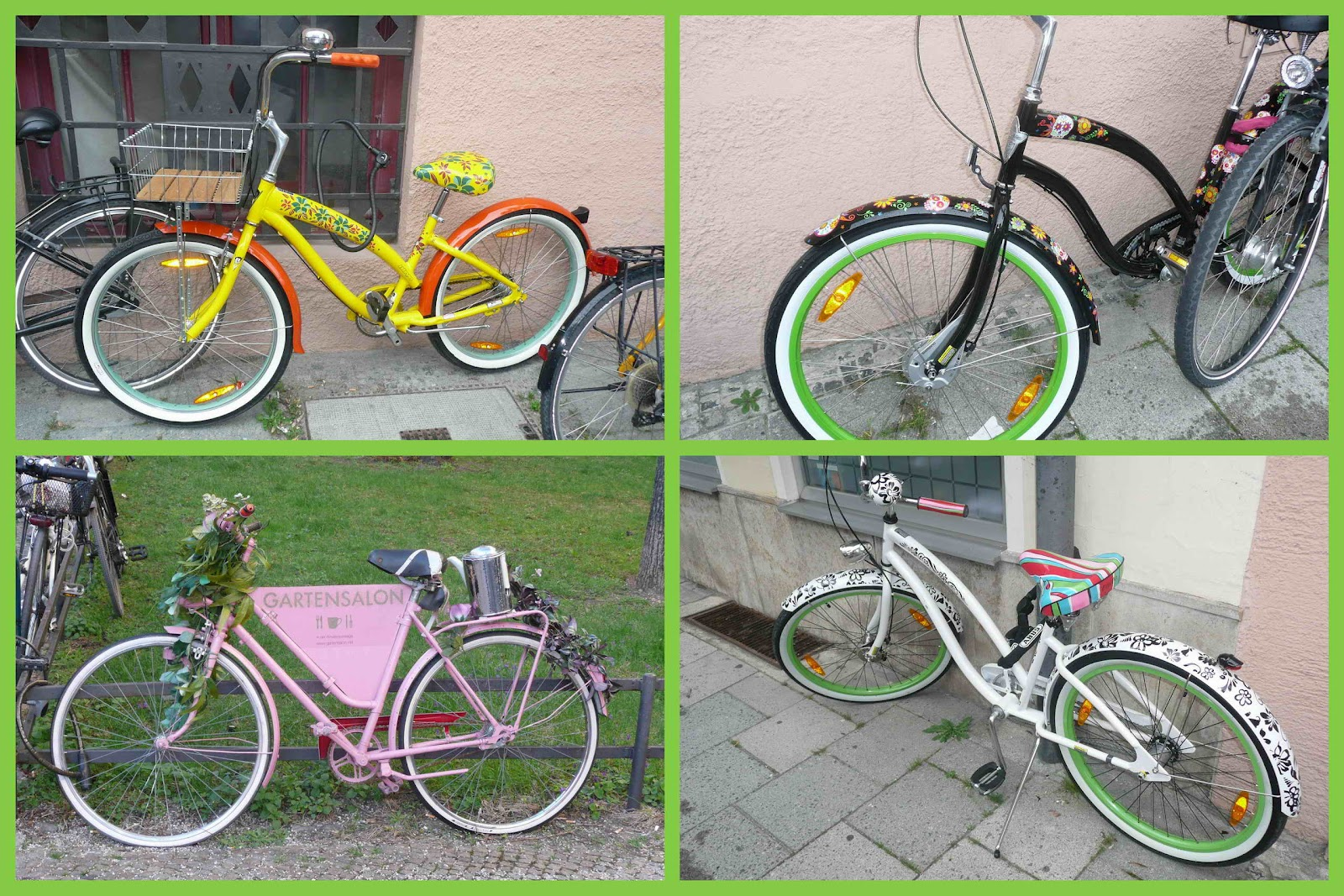 Как можно украсить велосипед своими руками в домашних 92