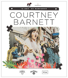 COURTNEY BARNETT. CC BARRANCO. 10 DE NOVIEMBRE 2016
