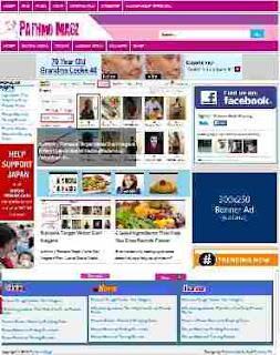Pathmo magz Blogger Template