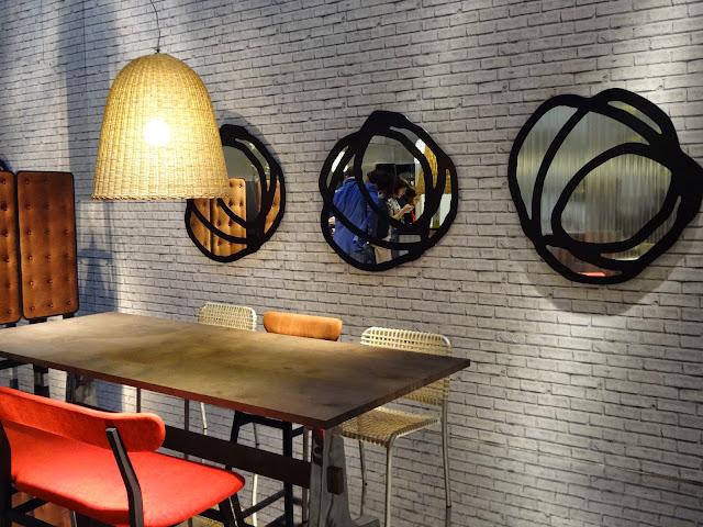 As tendêcias no uso de espelhos, direto de Milão.