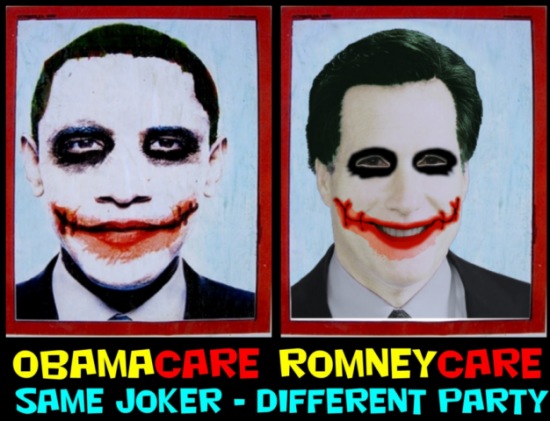 same joker different party