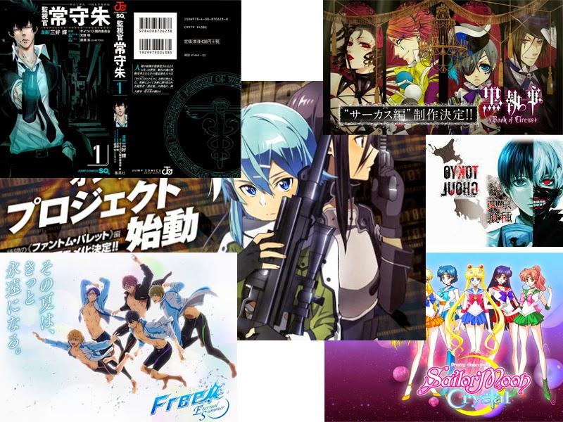 Anime musim panas yang paling dinanti