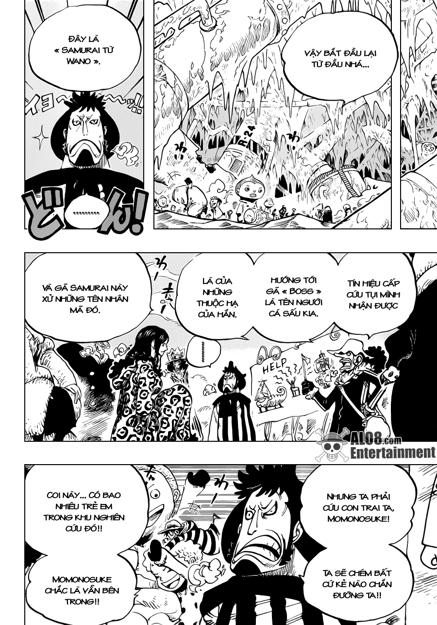 """One Piece Chapter 663: """"CC"""" 016"""