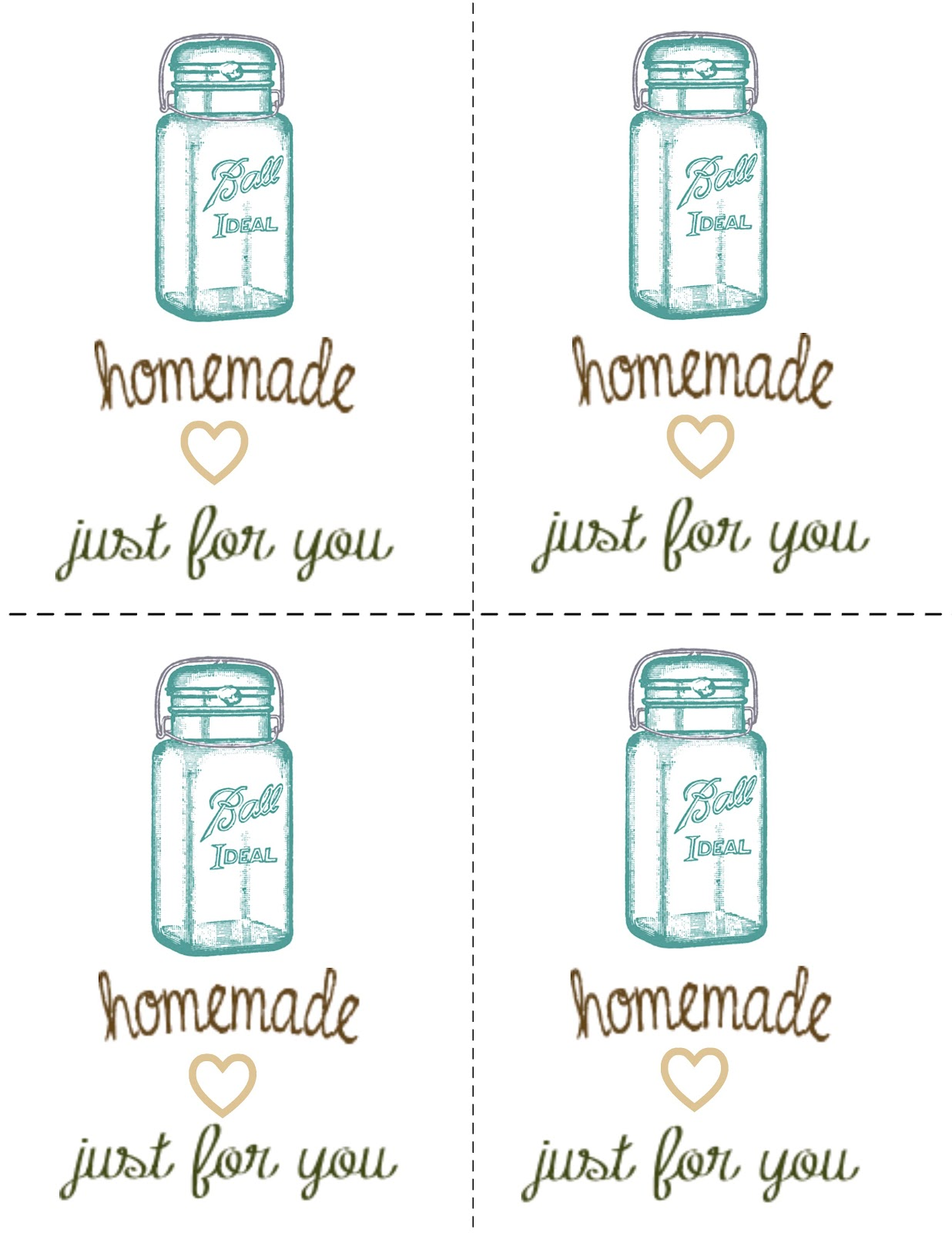 Misty d designs ball jar printable gift tags i have tried to createdesign my own free printable i am so excited to share it with all of you today negle Gallery