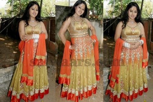 Kannada Actress Glitter Salwar