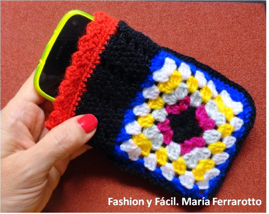 Fashion y Fácil : ¿Cómo hacer un forro para el móvil con un par de ...