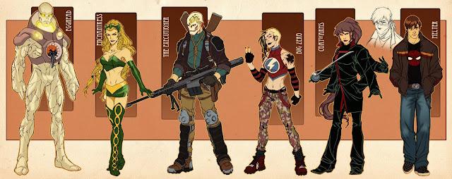 Young Avengers por diablo2003