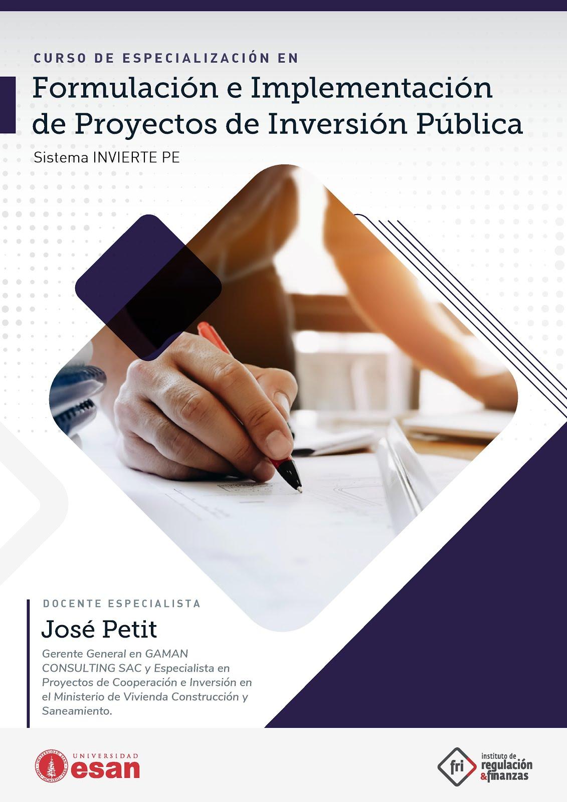 Formulación de Proyectos -Curso ESAN 1