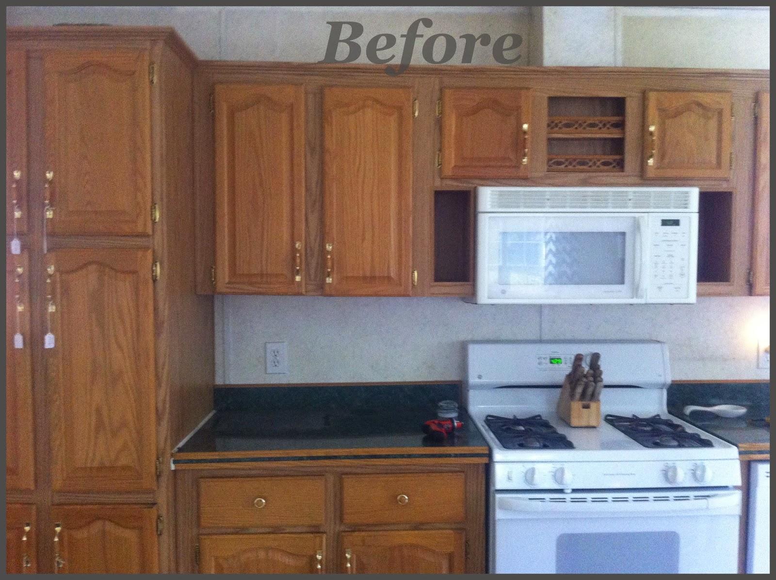 Design studio blue gray kitchen makeover