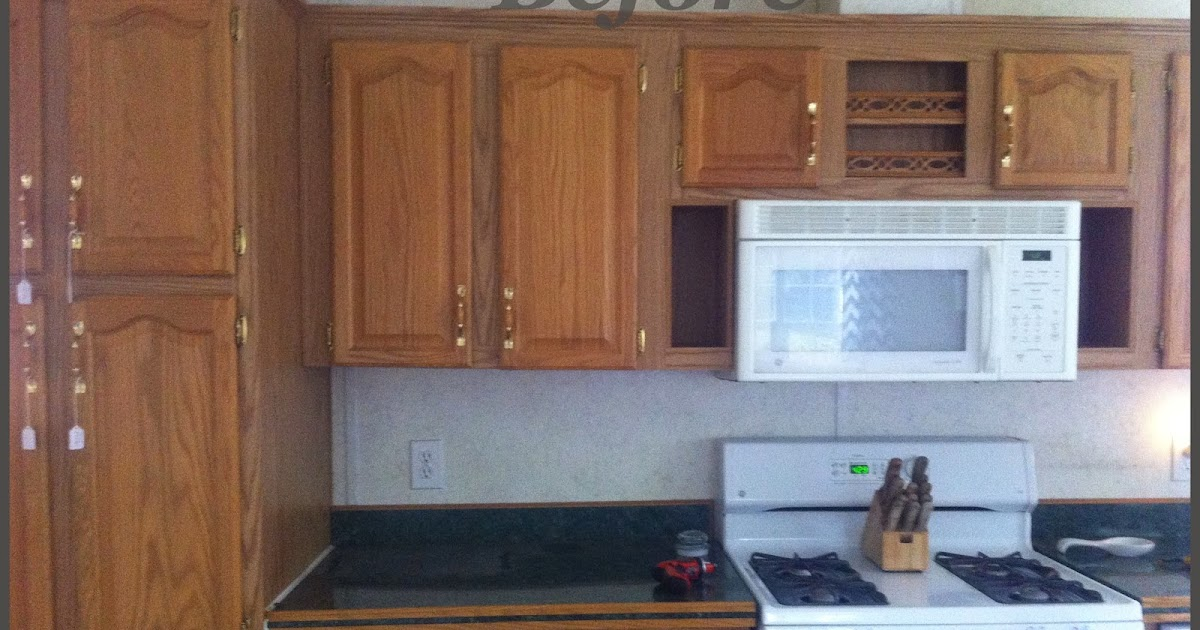 Navy Painted Kitchen Cabinets