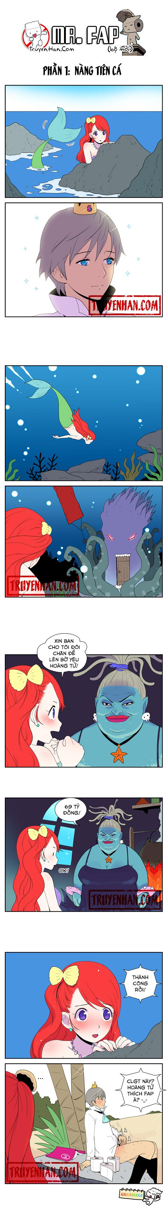 Mr. FAP (bộ mới) phần 1: Nàng tiên cá