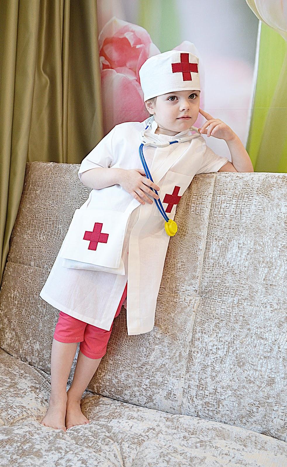 Сшить детский костюм медсестры своими руками 15