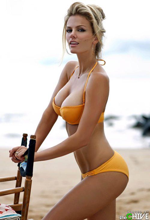 bathing suit model. Daily Hotness.