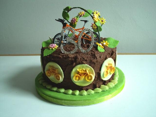 Alison Lisa Horn Bike Birthday Cake Not Made By Me