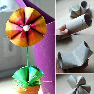 Shine kids crafts paper crafts for kids toilet tissue for Toilet paper roll crafts for adults