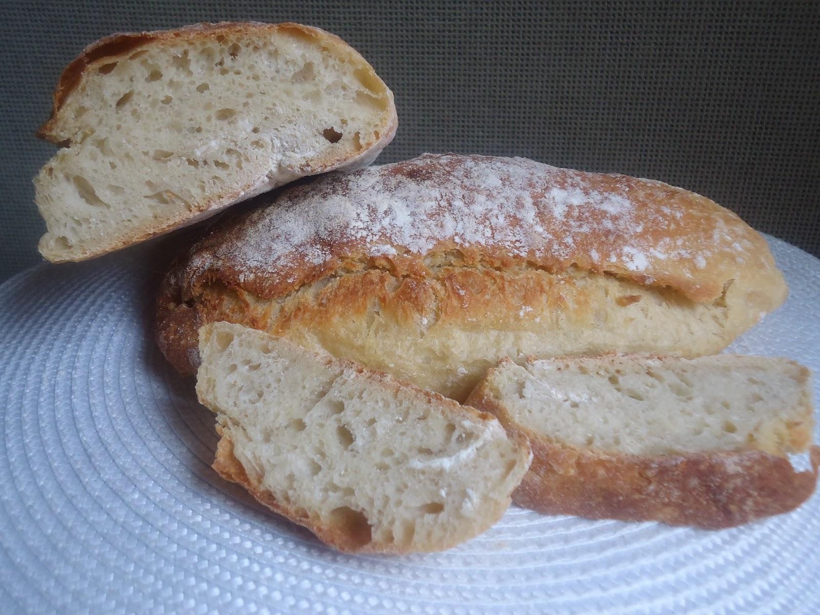 Cocina en familia pan ciabatta y un nuevo miembro for Cocina en familia