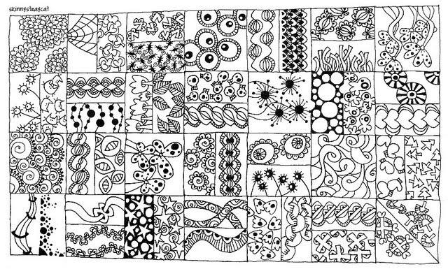 11. Líneas y patrones zen: zentangles | Música en El Palo 2