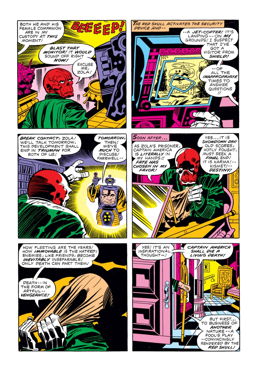 Captain America (1968) Issue #210 #124 - English 17