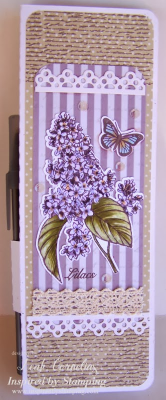 Inspired by Stamping Spring Lilacs Stamp set