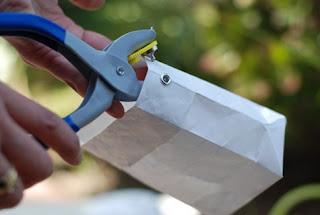 como hacer una lampara de papel