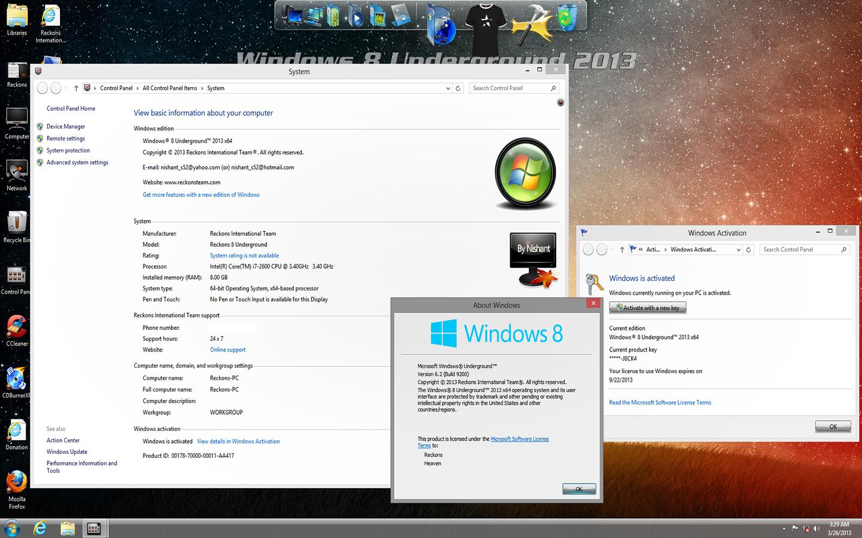windows 8 build 9200 скачать торрент
