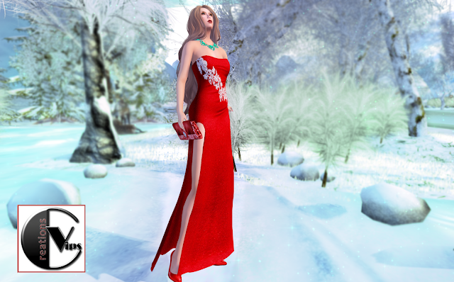 Valentine gown by Vips Creation