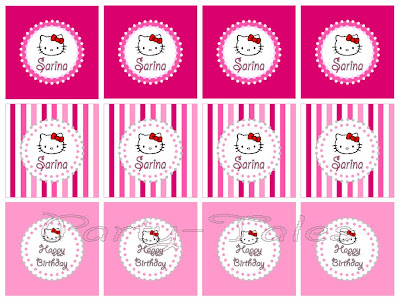 party tales: ~ party printable ~ hello kitty party circles