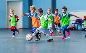 Futsal usado para treinamento do Futebol