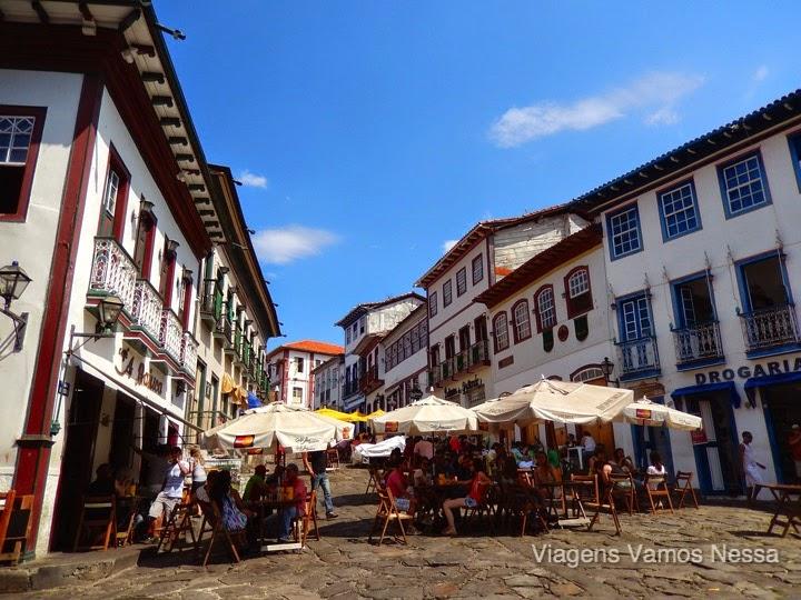 Rua da Quitanda, point de maior atração da cidade