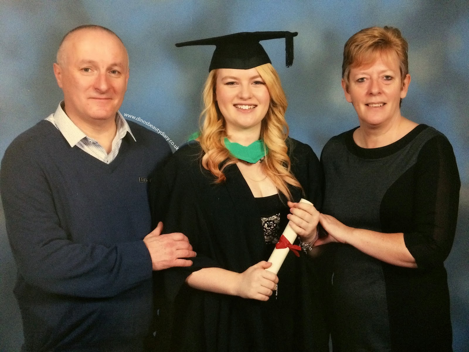 Dinos Beauty Diary - Graduation 29/11/14 - Nottingham Trent University - Nottingham Law School