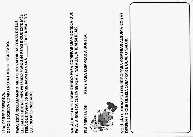 Atividades de Matemática para o 2º  Ano-PARTE 5, atividades para imprimir, ensino fundamental, matemática,desafios matemáticos..