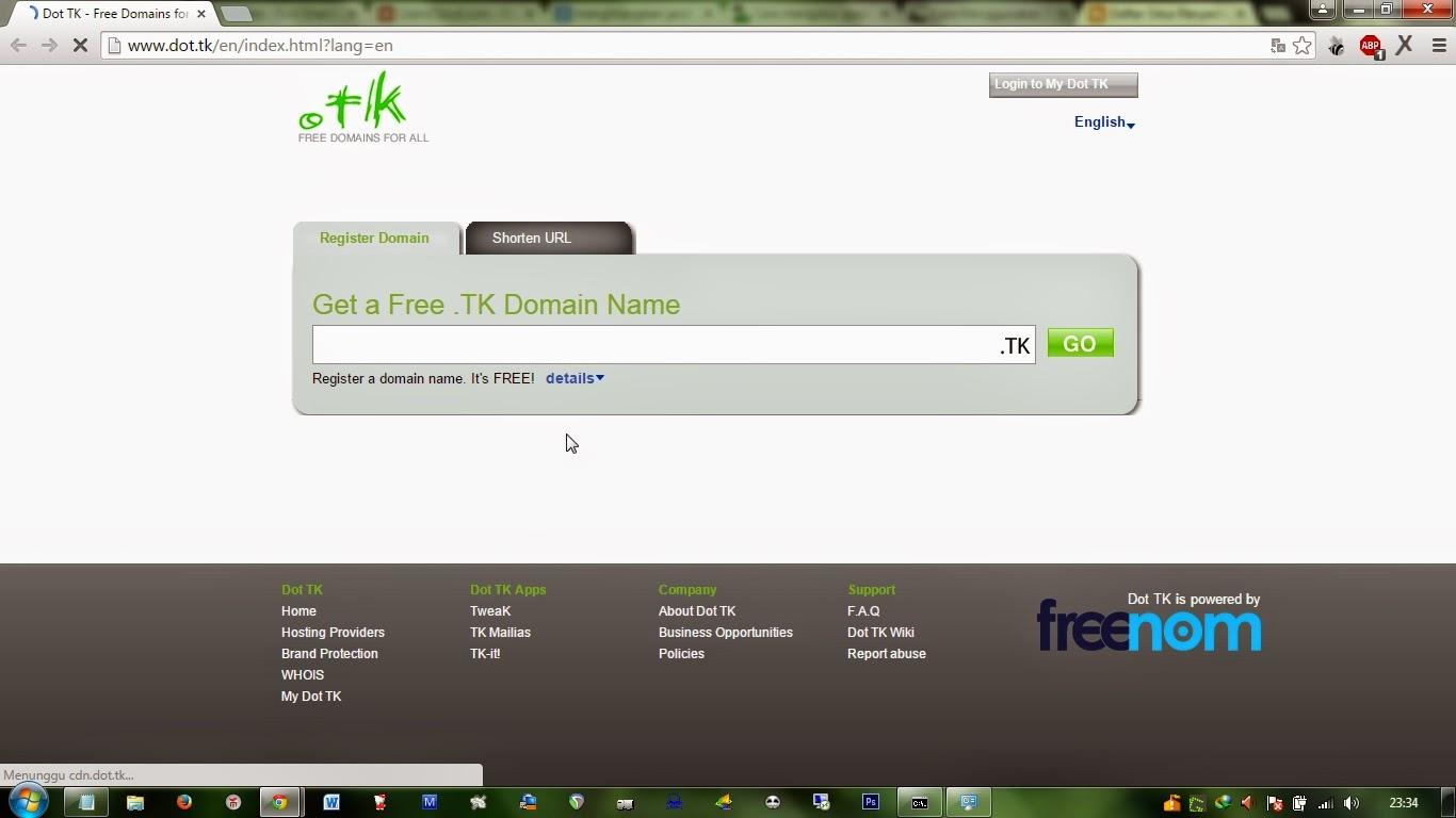 domain free