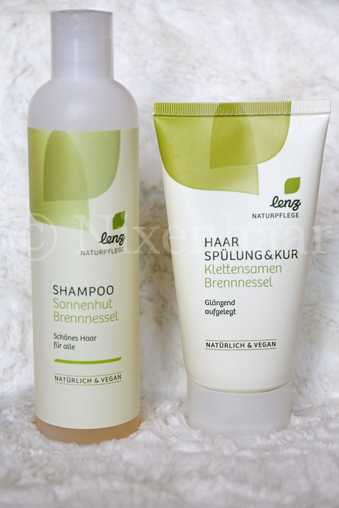 Lenz Shampoo Sonnenhut & Brennnessel und Spülung & Kur