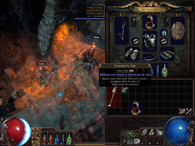 Path of Exile - Chromatic Orb