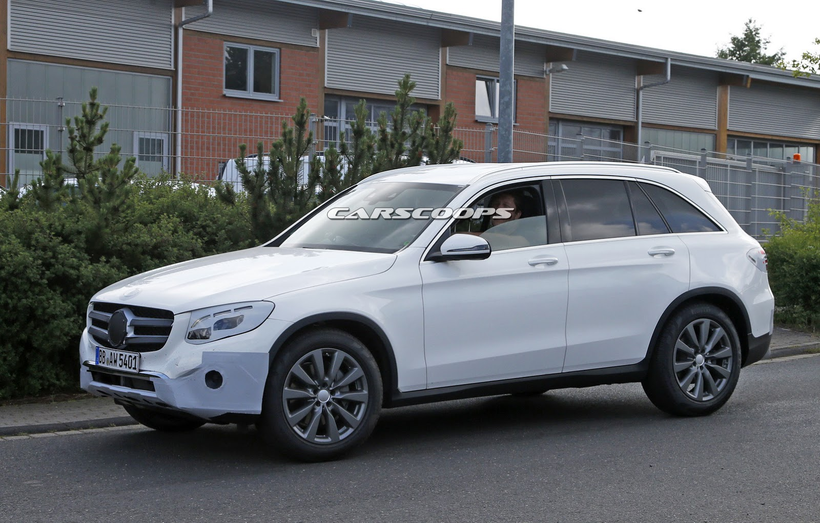 New Mercedes-Benz GLC Compact SUV Spied Almost Undisguised!