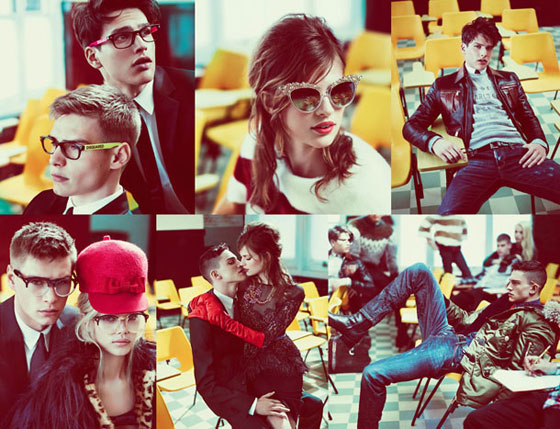 Dsquared2 fall 2012 campaign