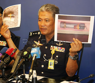 Seorang Peserta Perhimpunan Aman Ditangkap Memiliki Bom!!