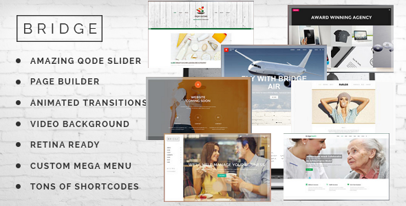 Bridge WordPress Theme 2015