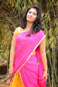 kruthika jayakumar half saree stills-thumbnail-8