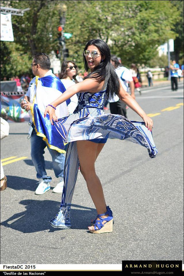Desfile De Las Naciones, Fiesta DC 2015