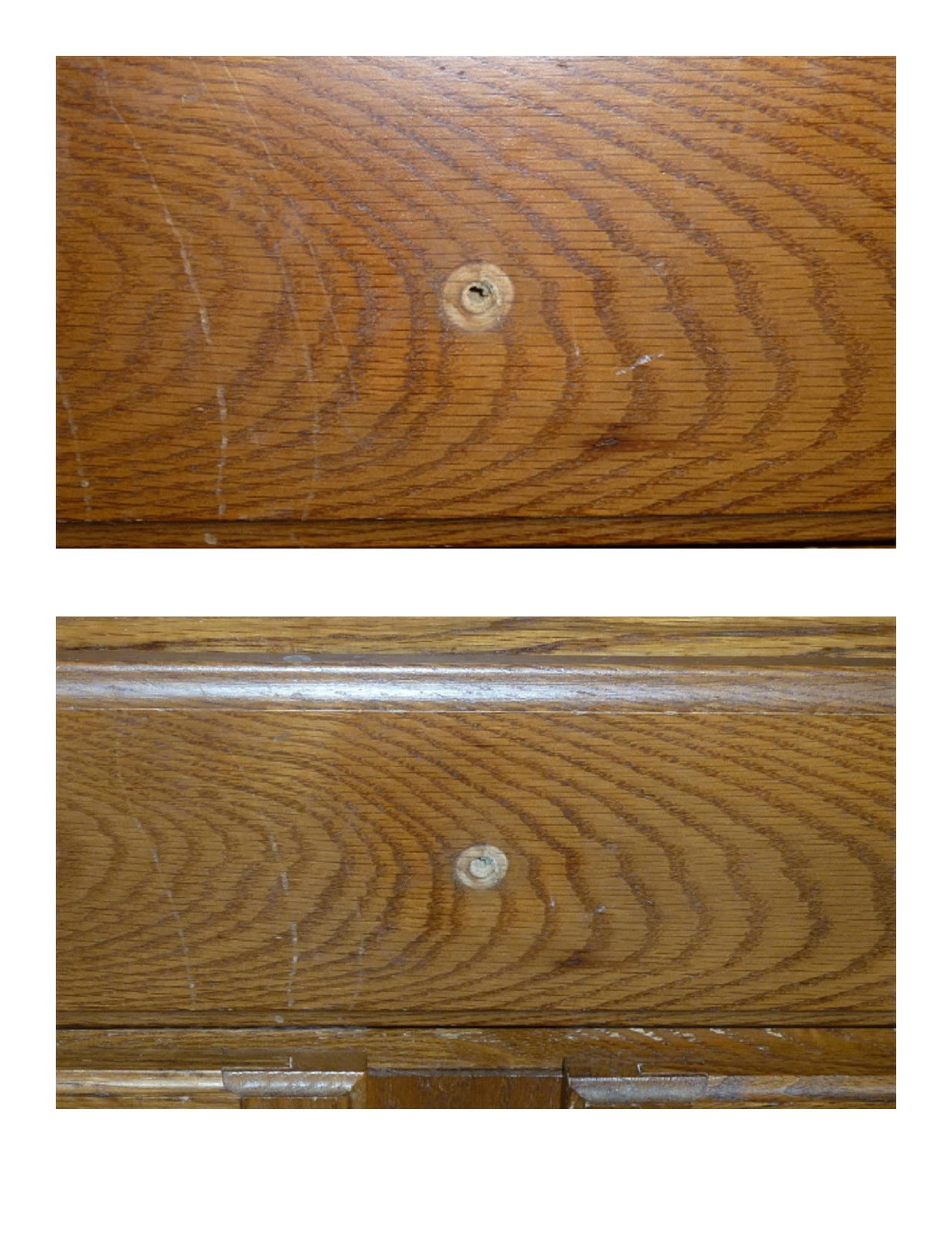 how to use wood filler on a table