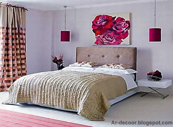 لوحات رائعة لتزيين غرف النوم   ديكورات لوحات لغرف النوم