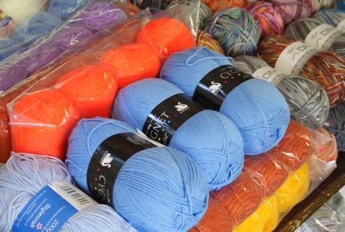 Yarn shopping Istanbul