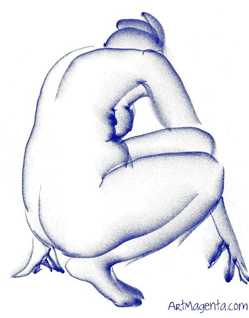 Croquis by ArtMgenta.com