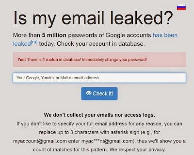 Fórum russo publica 5 mil senhas de usuários do Gmail